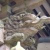 受原八幡神社の木鼻