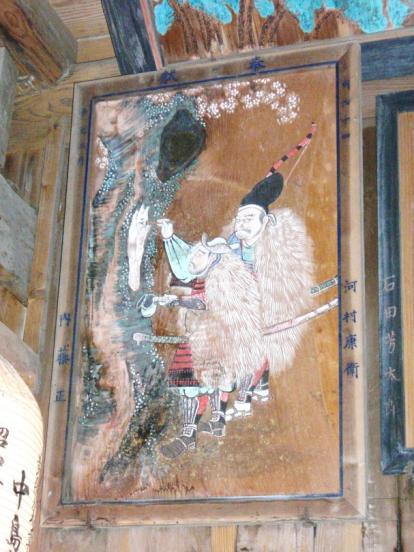 白鬚神社の絵馬
